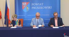 Przebudowa dróg powiatowych w Komorowie: ul. Pruszkowskiej i ul. Komorowskiej