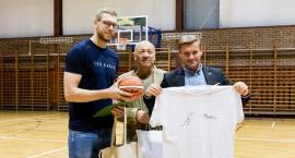 Wychowanek MKS Pruszków Michał Sokołowski spotkał się z fanami