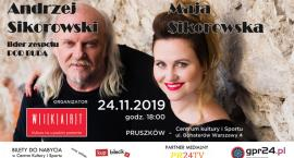Andrzej Sikorowski i Maja Sikorowska dadzą koncert w Pruszkowie
