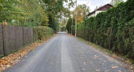 Ulice na pograniczu gminy Brwinów i Milanówka - Mieszka I oraz Owczarska już po remoncie