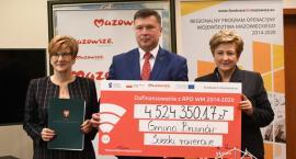 Ponad 4 mln zł z UE dla Brwinowa
