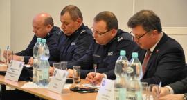 Rozmowa o bezpieczeństwie w Brwinowie