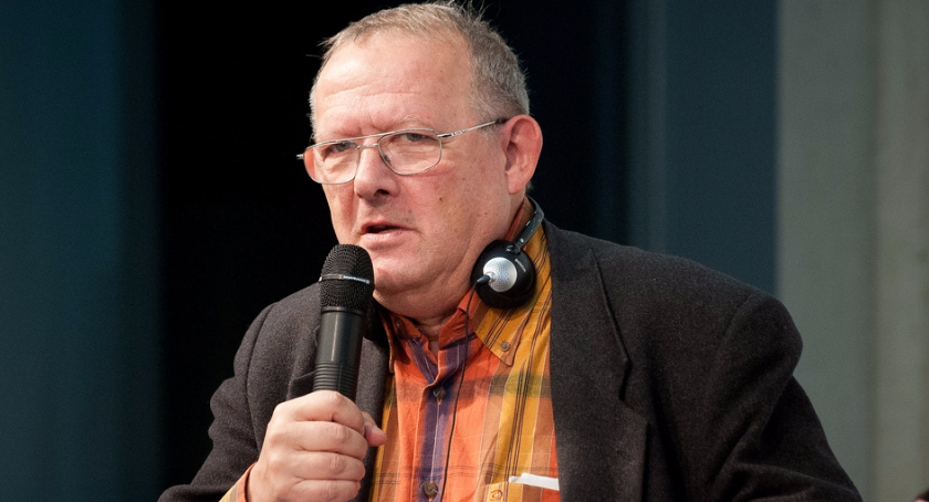 Wiadomości, Podlaski zaprasza spotkanie Adamem Michnikiem - zdjęcie, fotografia