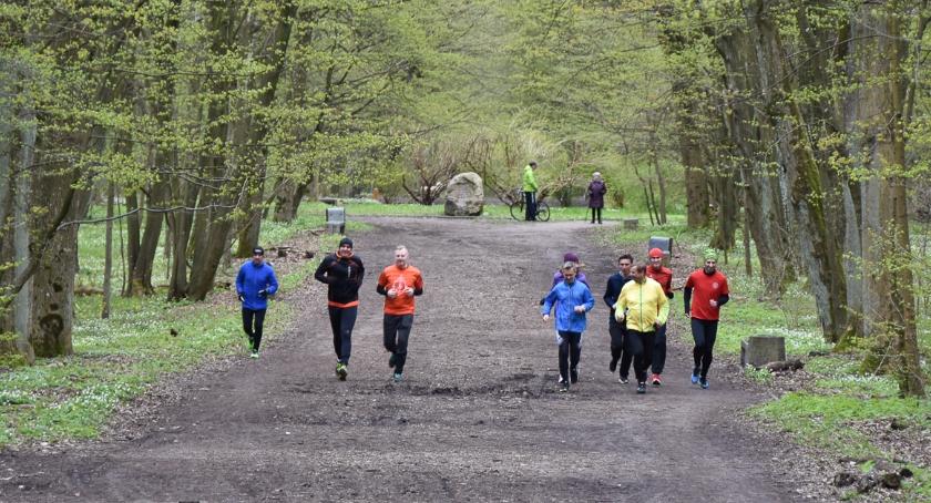 Sport, Zwierzyniecki teraz pięć oznaczonych biegowych - zdjęcie, fotografia