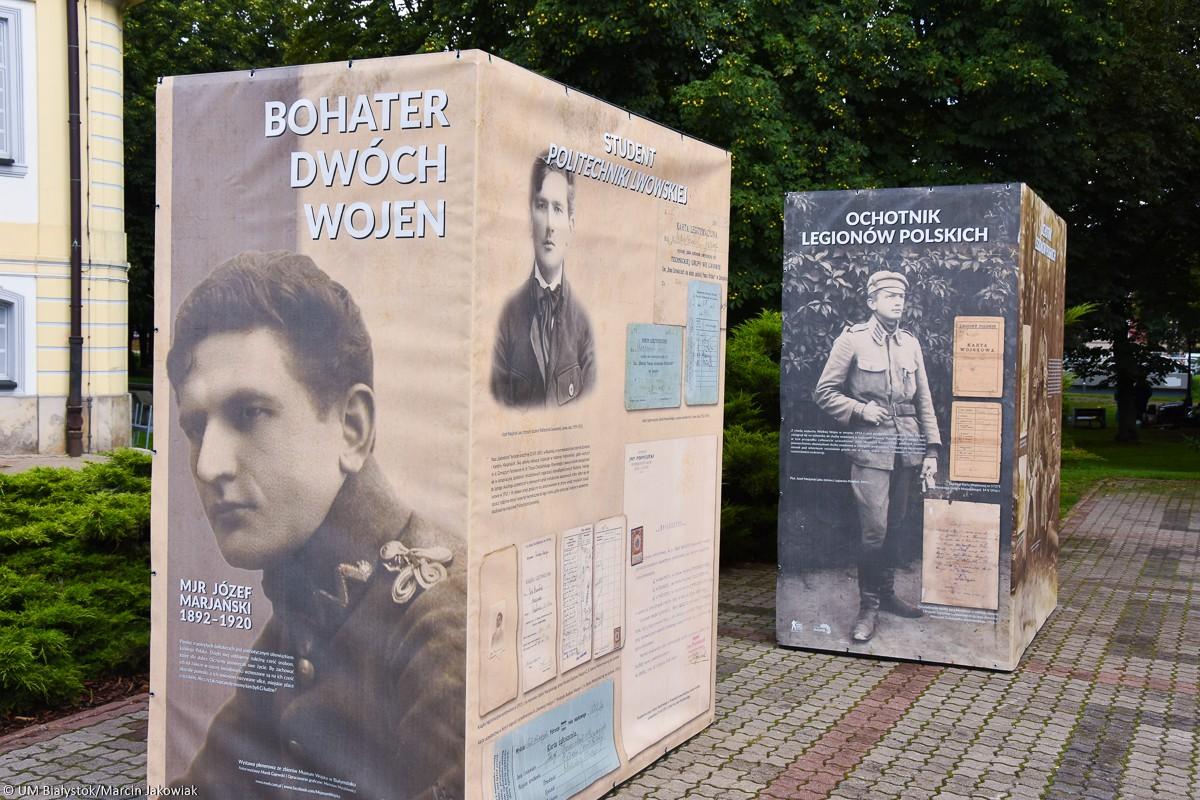Kultura, Józef Marjański bohater Bitwy Białostockiej - zdjęcie, fotografia