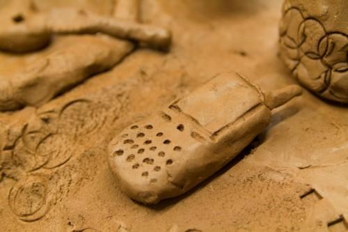 Kultura, Warsztaty ceramiczne nastolatków - zdjęcie, fotografia