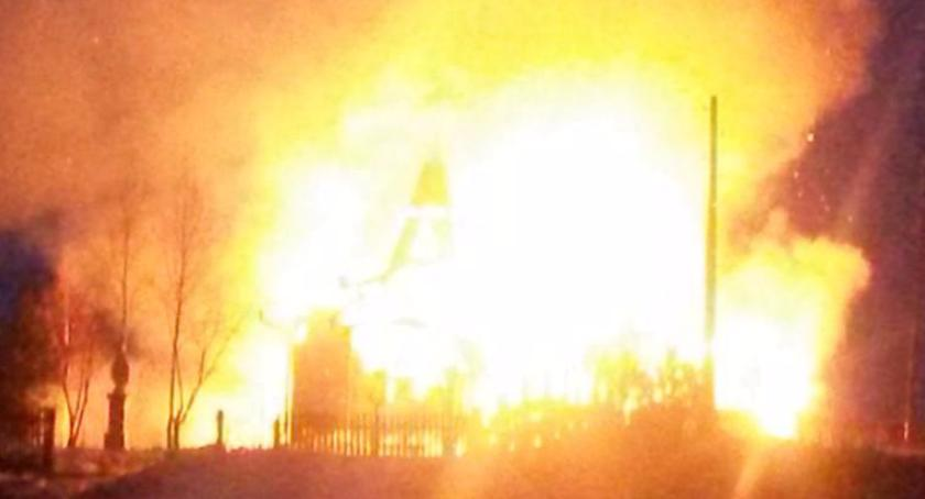 Wiadomości, Białymstoku spłonął kościół Potrzebne pieniądze odbudowę - zdjęcie, fotografia