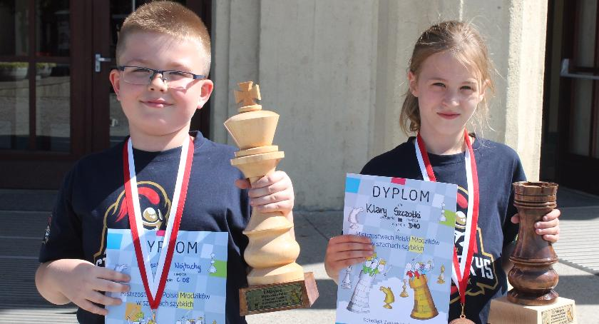 Sport, medale trafiły białostockich szachistów - zdjęcie, fotografia