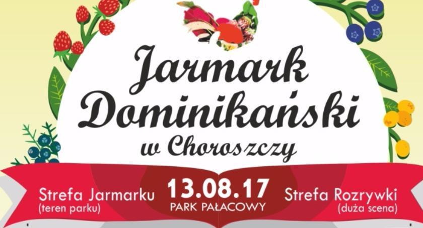 Kultura, Kierunek Choroszcz odbędzie Jarmark Dominikański - zdjęcie, fotografia