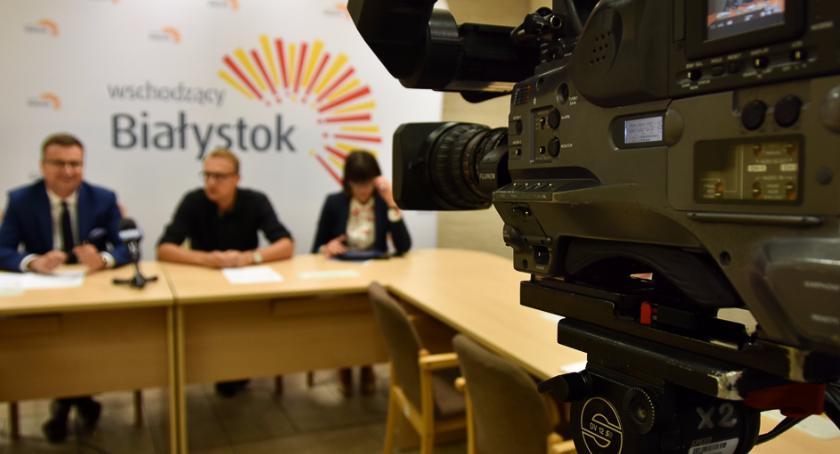 Wiadomości, filmy będą promowały Białystok - zdjęcie, fotografia