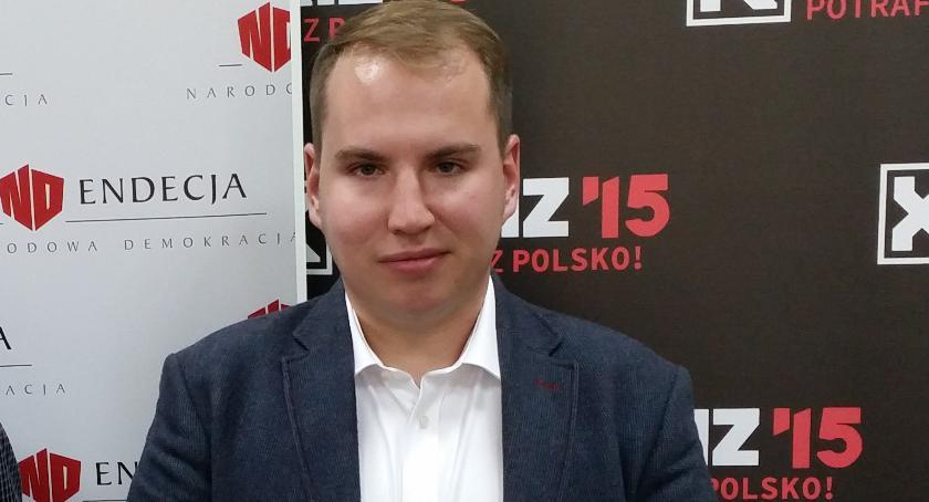 Wiadomości, Andruszkiewicz będę startował wyborach prezydenckich Białymstoku - zdjęcie, fotografia
