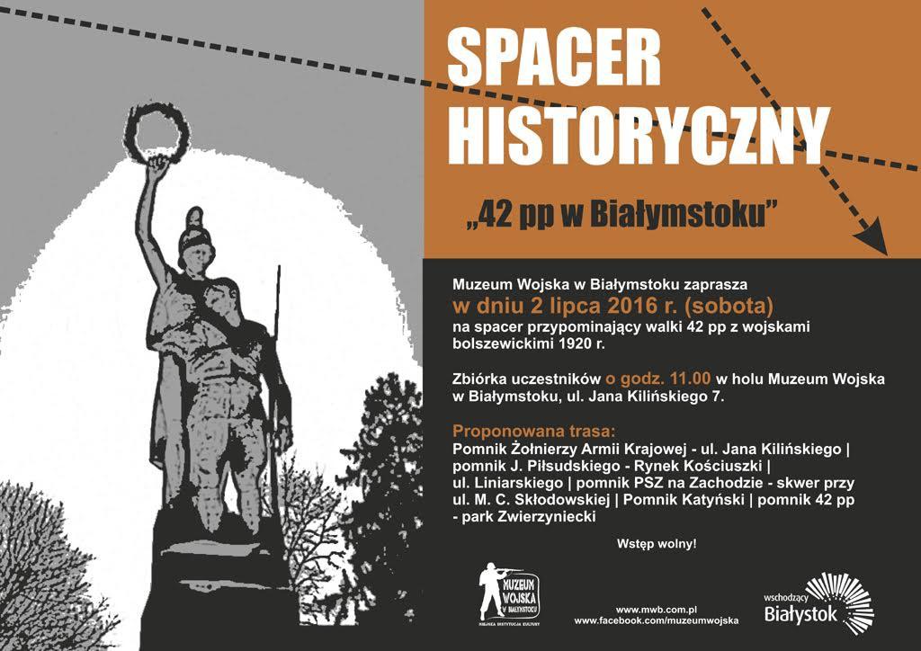 Kultura, Spacer śladami Pułku Piechoty - zdjęcie, fotografia