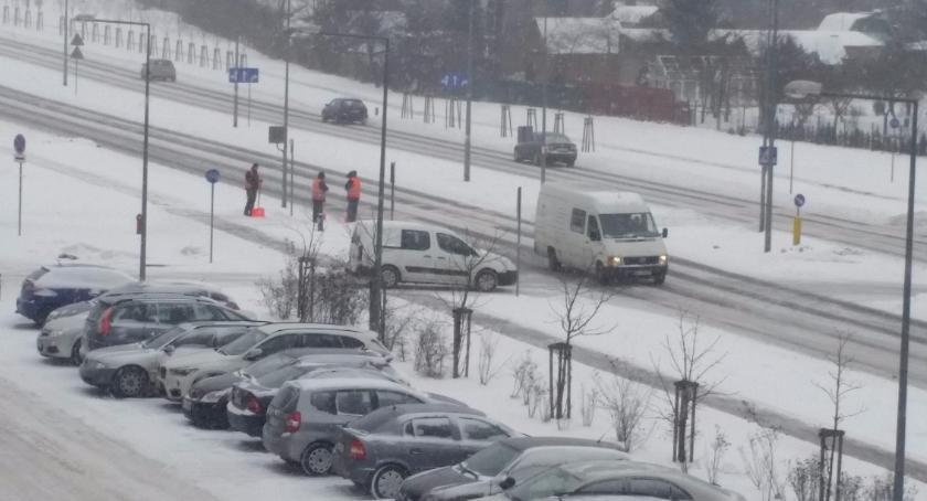 Wiadomości, rogatek rogatek Białystok cały biały - zdjęcie, fotografia