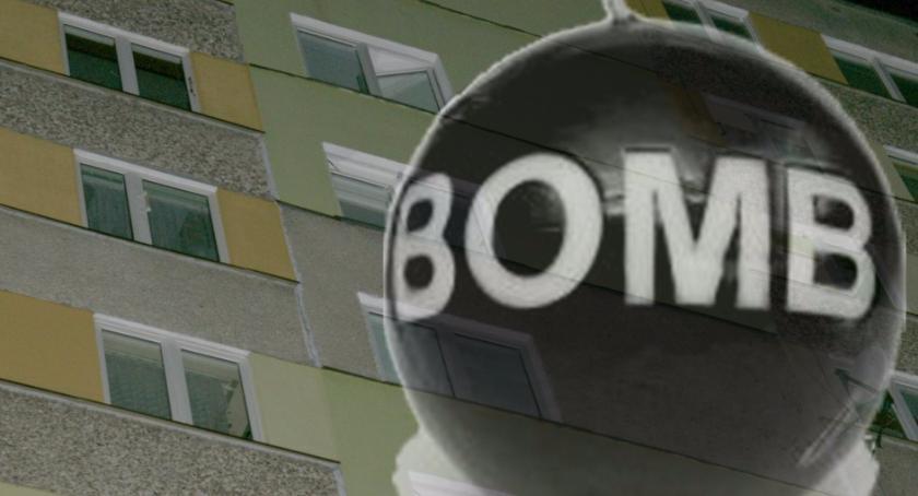 Wiadomości, Spowodował fałszywy alarm bombowy trafił aresztu - zdjęcie, fotografia