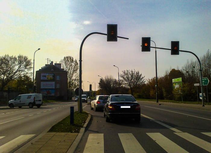 Wiadomości, Sygnalizacja utrapieniem kierowców - zdjęcie, fotografia