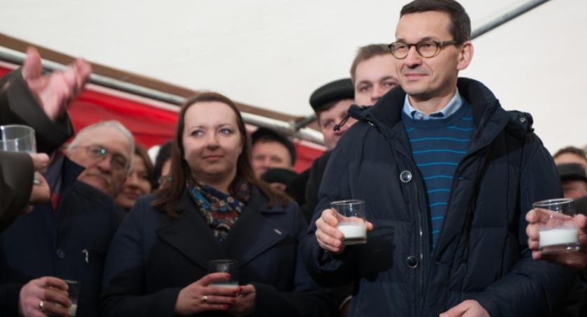 Wiadomości, Podlascy rolnicy spotkali premierem ministrem - zdjęcie, fotografia