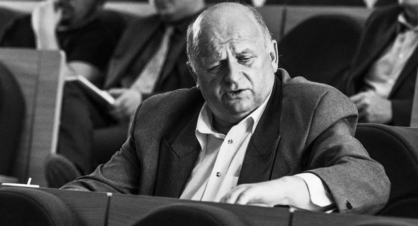 Wiadomości, Zmarł radny klubu Zbigniew Brożek - zdjęcie, fotografia