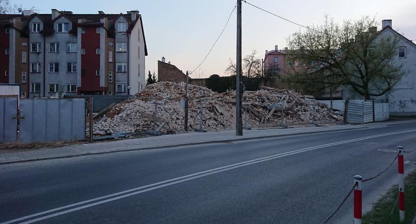 Wiadomości, Zabytkowa kamienica wyburzona Odcinek drugi - zdjęcie, fotografia