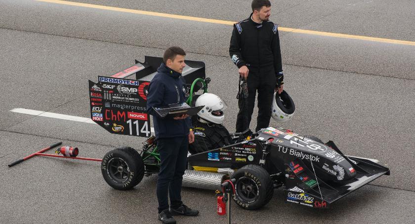 Motoryzacja, Bolid Politechniki Białostockiej wystartował zawodach Formula Michigan - zdjęcie, fotografia