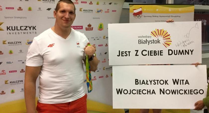Sport, Nowicki rekordy Sukcesy białostoczan Śląsku - zdjęcie, fotografia