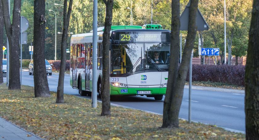 Wiadomości, autobusach temperatura choć bierz smołę gotuj - zdjęcie, fotografia