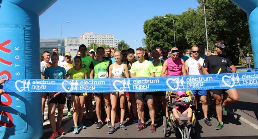 Sport, Bieganiem można pomagać Electrum Ekiden zakończony - zdjęcie, fotografia