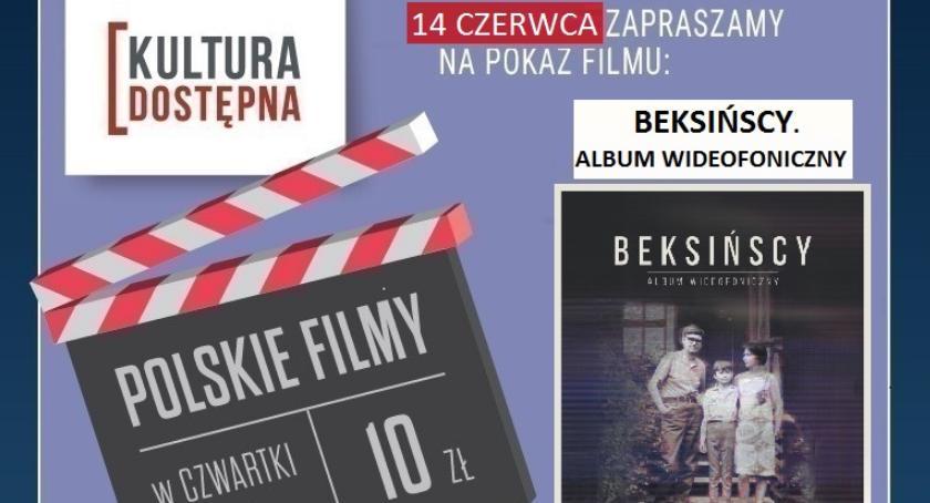 Kultura, Beksińscy Album wideofoniczny propozycja Helios czwartek bilety - zdjęcie, fotografia