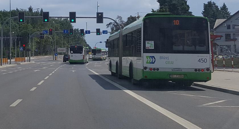 Wiadomości, Autobus darmo metoda korki zatłoczone parkingi Białymstoku - zdjęcie, fotografia