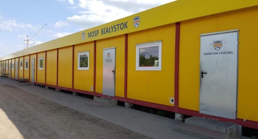 MOSP Białystok, latach Białystok wchodzi zagra lidze - zdjęcie, fotografia