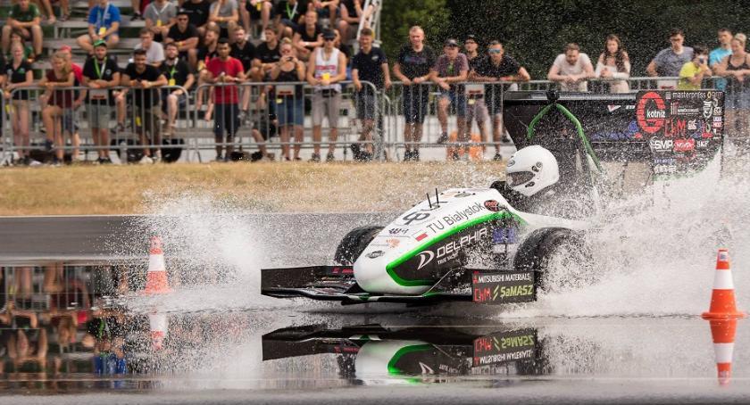 Motoryzacja, Białostocki Cerber pierwszej dziesiątce zawodach Czechach - zdjęcie, fotografia