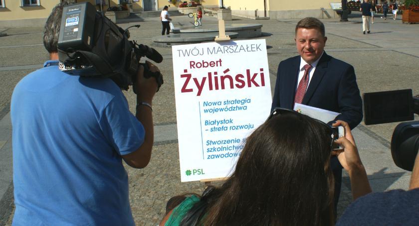 Wiadomości, Robert Żyliński zostać marszałkiem województwa - zdjęcie, fotografia