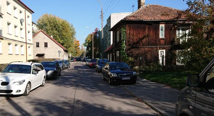 Wiadomości, ulicę Parkową czeka rzeź drzew - zdjęcie, fotografia