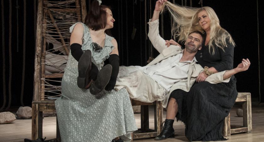 """Kultura, Aktorzy Białoruskiego Państwowego Teatru Młodzieżowego zagrają """"Kozią Wyspę"""" - zdjęcie, fotografia"""