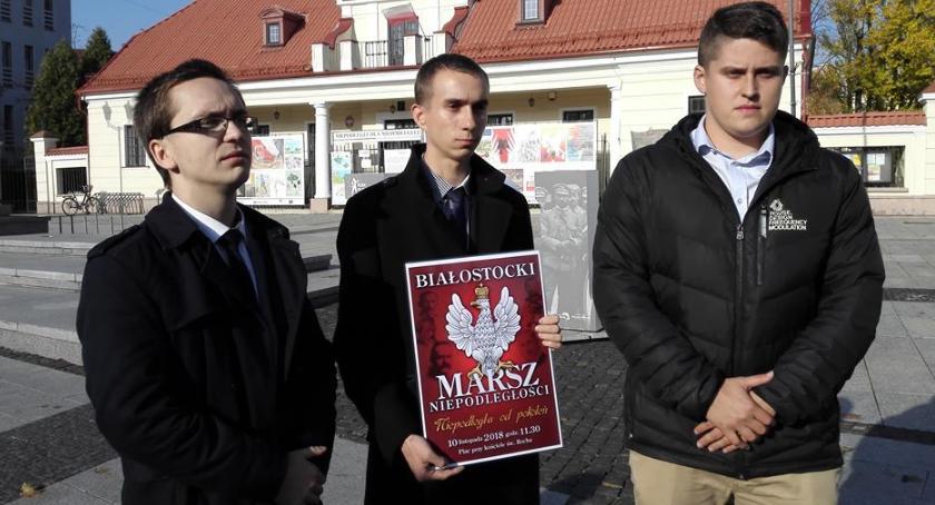Wiadomości, Środowiska narodowe patriotyczne zapraszają Białostocki Marsz Niepodległości - zdjęcie, fotografia