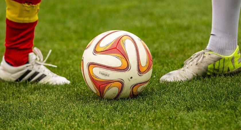 Piłka nożna, Jagiellonia efektownie Sosnowcu - zdjęcie, fotografia