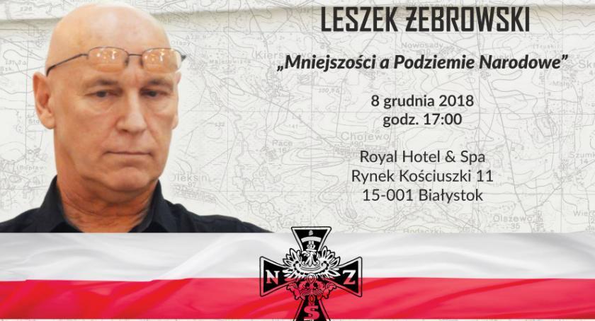 Wiadomości, trudnej historii opowie spotkaniu Leszek Żebrowski - zdjęcie, fotografia