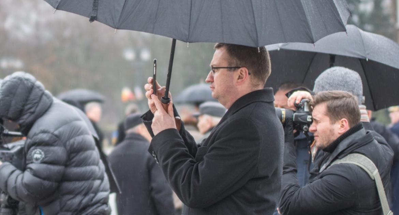 Wiadomości, Sekretarka radnych znalazła Rafał Rudnicki - zdjęcie, fotografia
