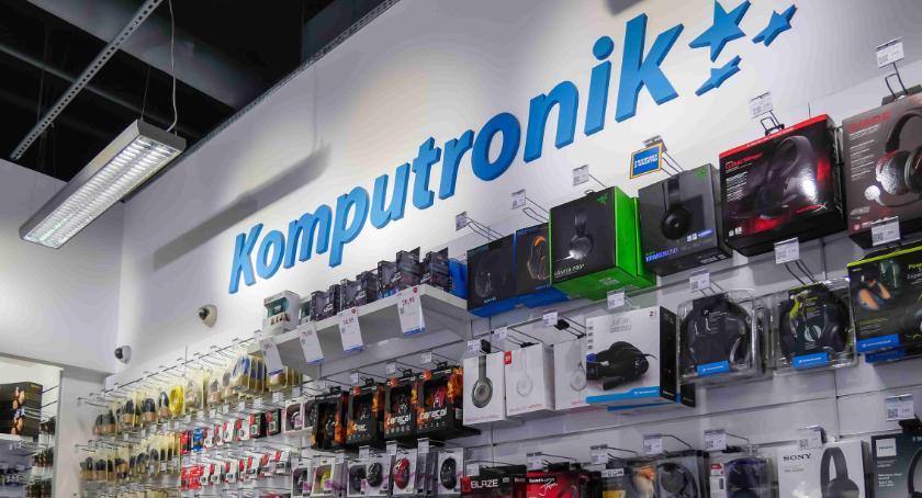 Lokalny biznes, Galerii Antoniuk dziś otwarcie sklepu Komputronik Będą niespodzianki - zdjęcie, fotografia