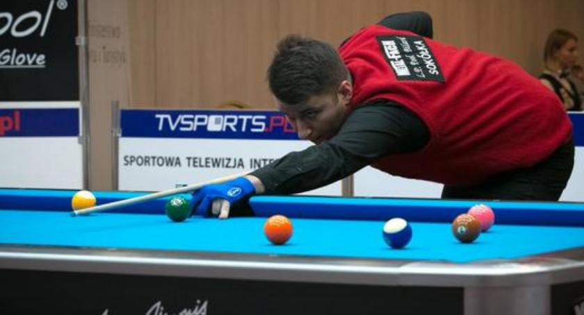 Sport, Sokółka wicemistrza Polski bilardzie - zdjęcie, fotografia