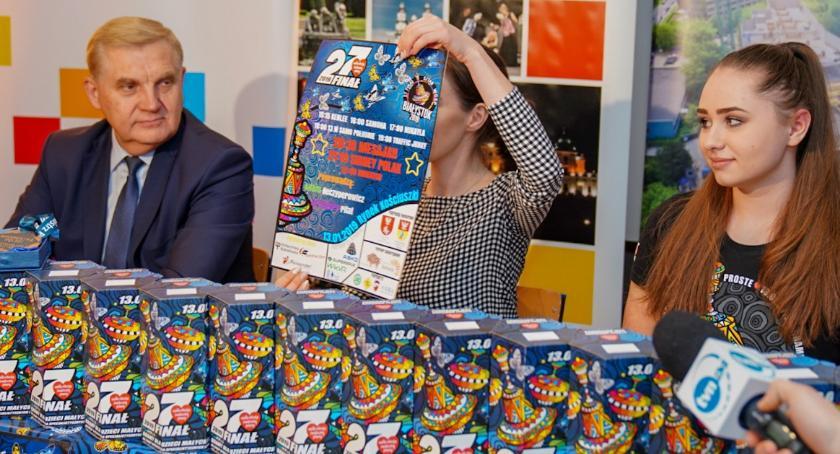 Wiadomości, Miasto Białystok kolejny wspiera Wielką Orkiestrę Świątecznej Pomocy - zdjęcie, fotografia