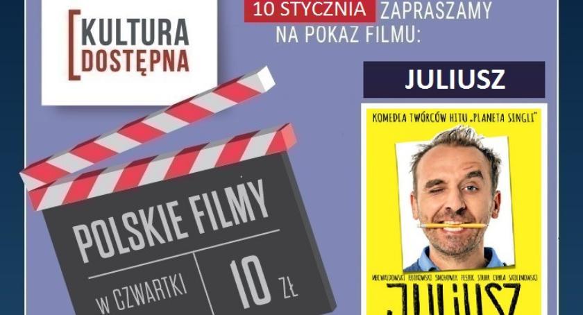 """Kultura, rozdania bilety """"Juliusz"""" Kinie Helios - zdjęcie, fotografia"""