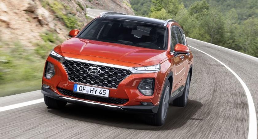 Motoryzacja, Pięć gwiazdek testach bezpieczeństwa Hyundaia Santa - zdjęcie, fotografia