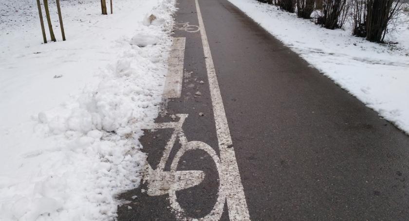 Wiadomości, Mediolan dopłaci rowerzystom można doprosić odśnieżania ścieżek - zdjęcie, fotografia