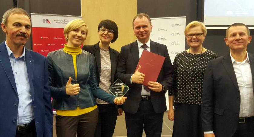 Wiadomości, SIGNUM Politechniki wyróżniony ogólnopolskim konkursie - zdjęcie, fotografia