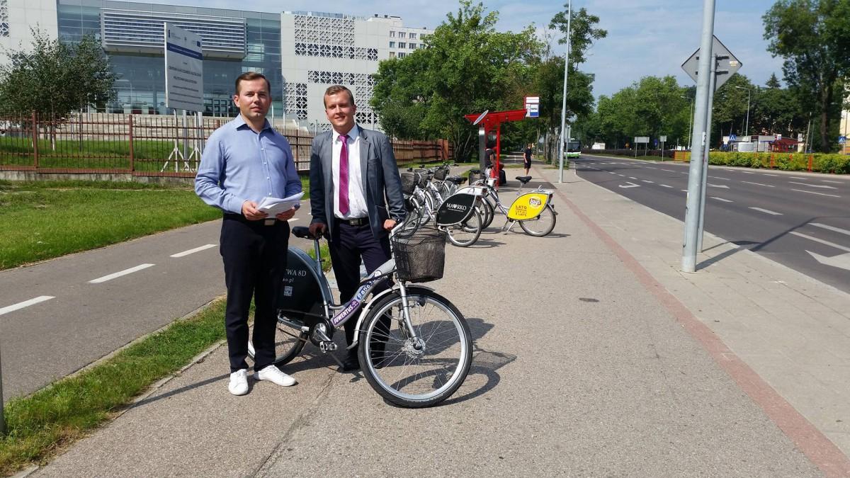 Wiadomości, Radni chcą więcej rowerów więcej stacji poszerzenia oferty BiKeRa - zdjęcie, fotografia