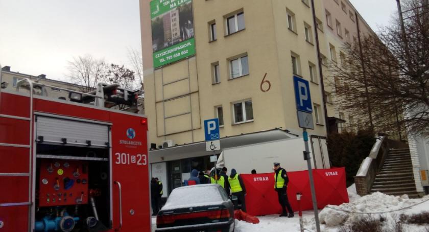 Wiadomości, Śmiertelne potrącenie pieszej ulicy Skłodowskiej - zdjęcie, fotografia