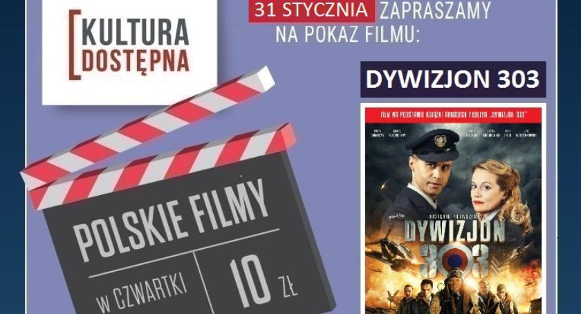 """Kultura, bilety """"Dywizjon 303"""" wygrania konkursie - zdjęcie, fotografia"""