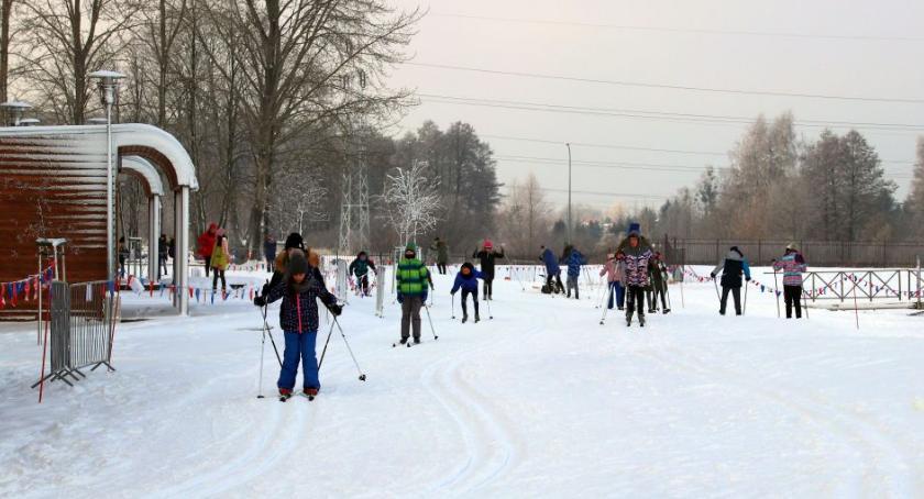 Styl życia, Jazda nartach parze opłaca BOSiR zaprasza - zdjęcie, fotografia