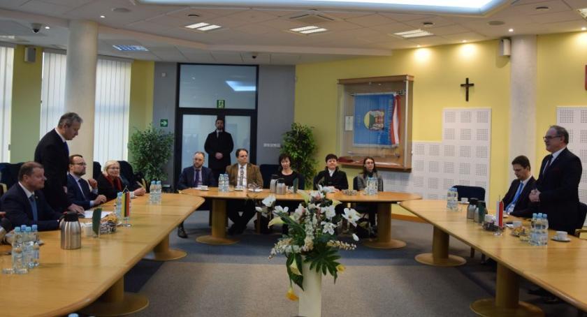 Wiadomości, Premier Litwy przyjechał Suwałk - zdjęcie, fotografia