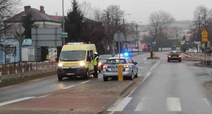 Motoryzacja, kolejny policyjny poranek siemiatyckich drogach - zdjęcie, fotografia